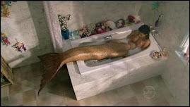 Cleo en la ducha