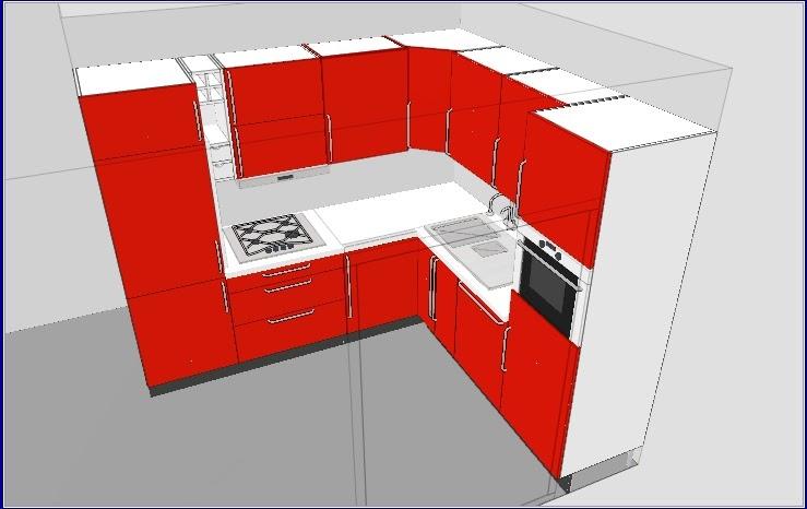 Bilocale ampio soggiorno: ikea kitchen planner (6)