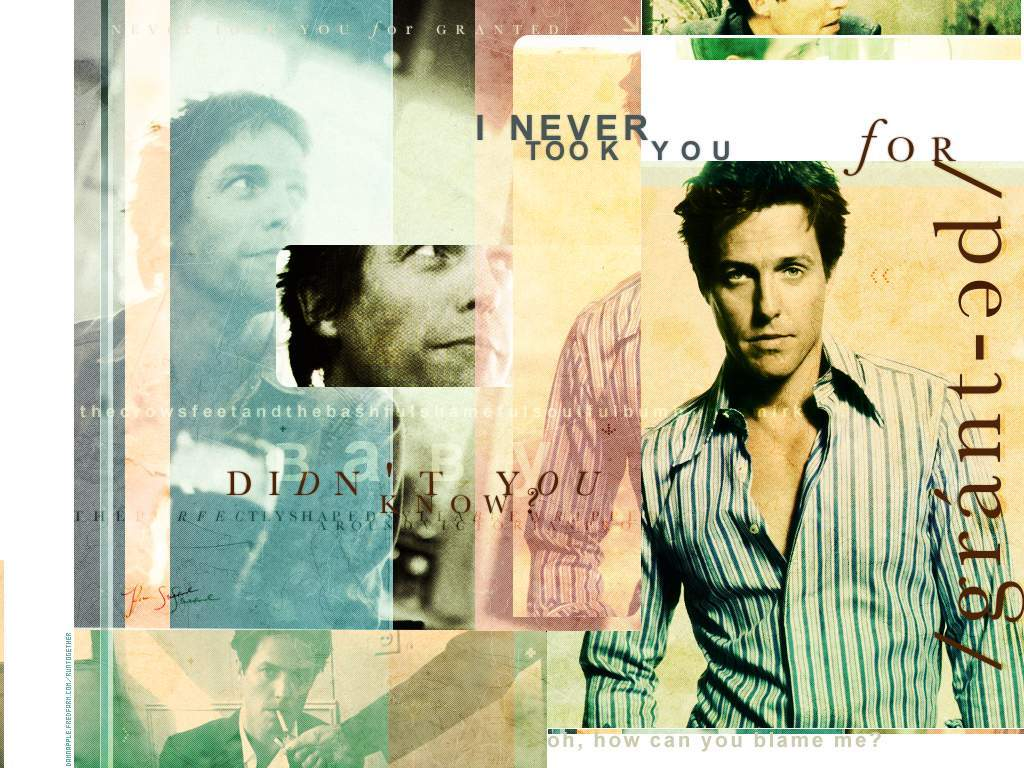 Movie Zone: Hugh Grant - Wallpapers