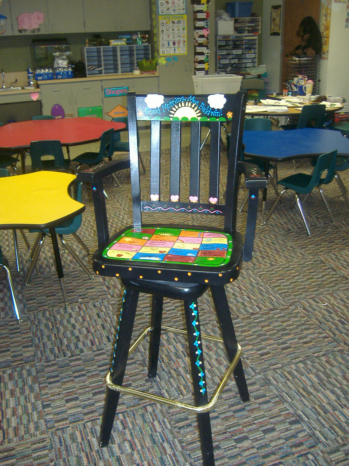 Teacher Chair Oh Pickles Show Us Your Life Teacher Gifts