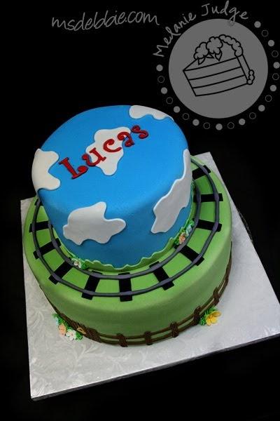 Cake Walk Thomas The Tank Engine Birthday Cake