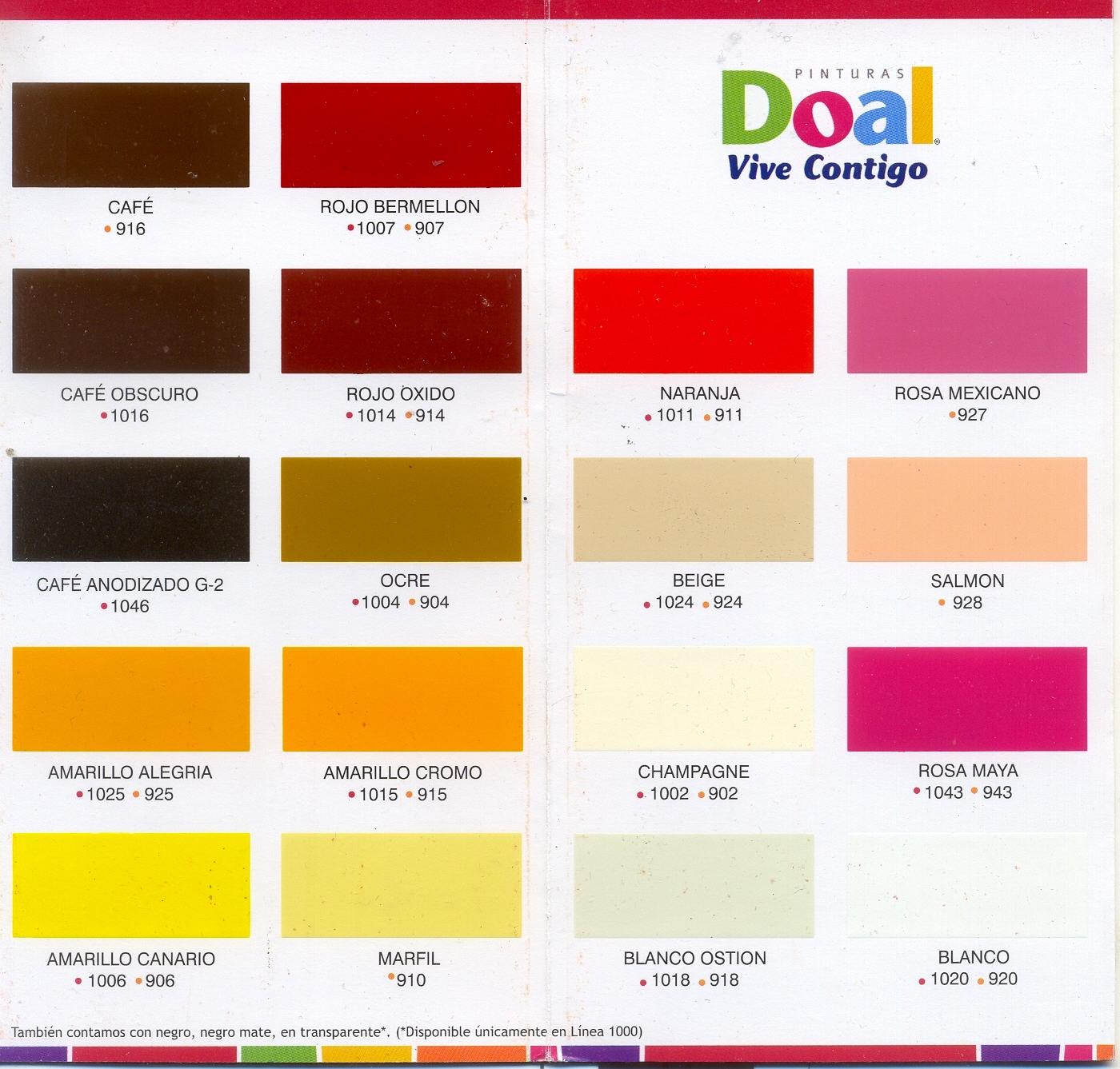 Regio protectores muestrario de colores Catalogo pinturas interior
