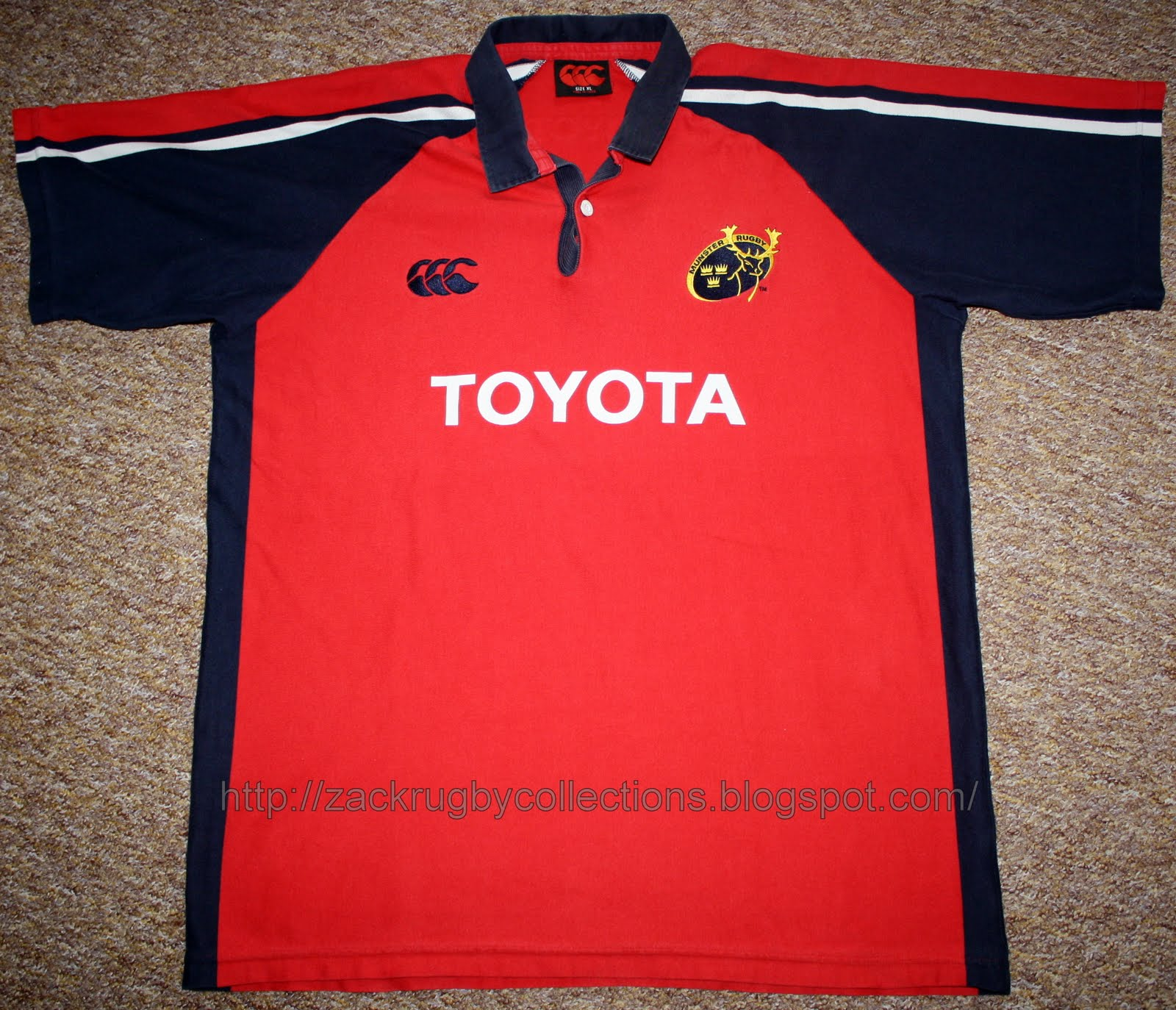 Munster Rugby Toyota