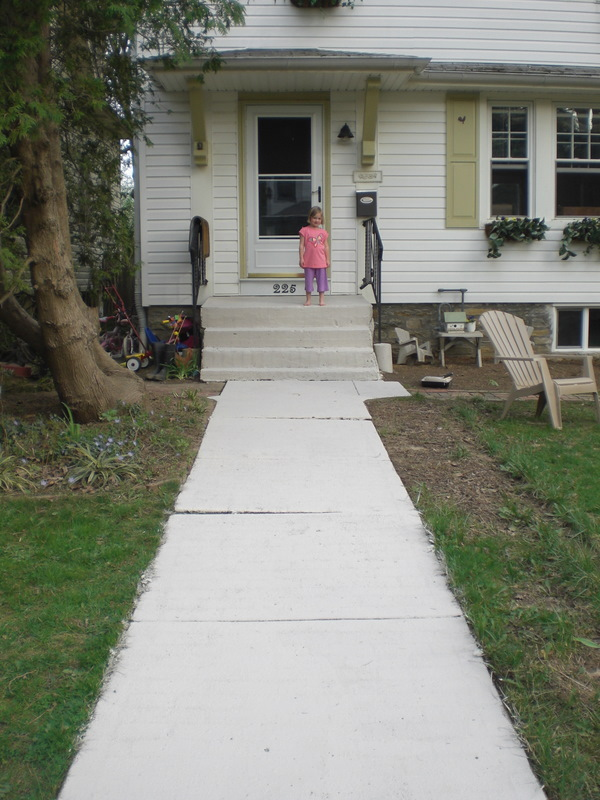 Faux Brick Walkway The Painted Home By Denise Sabia