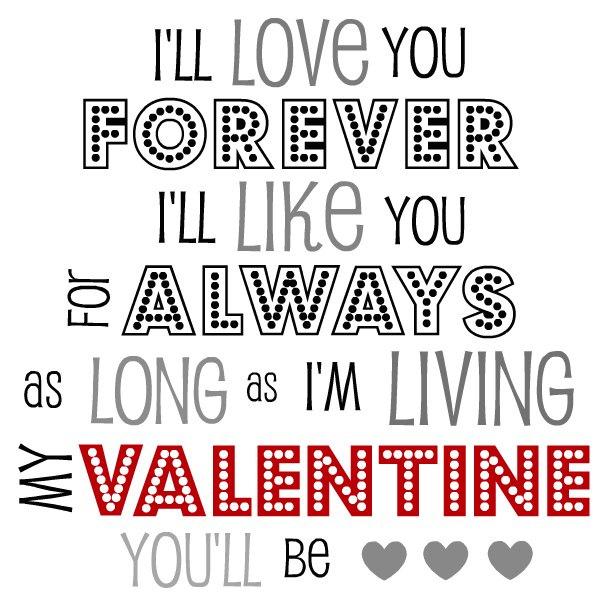 LOVE  printablesI Love You Baby Forever