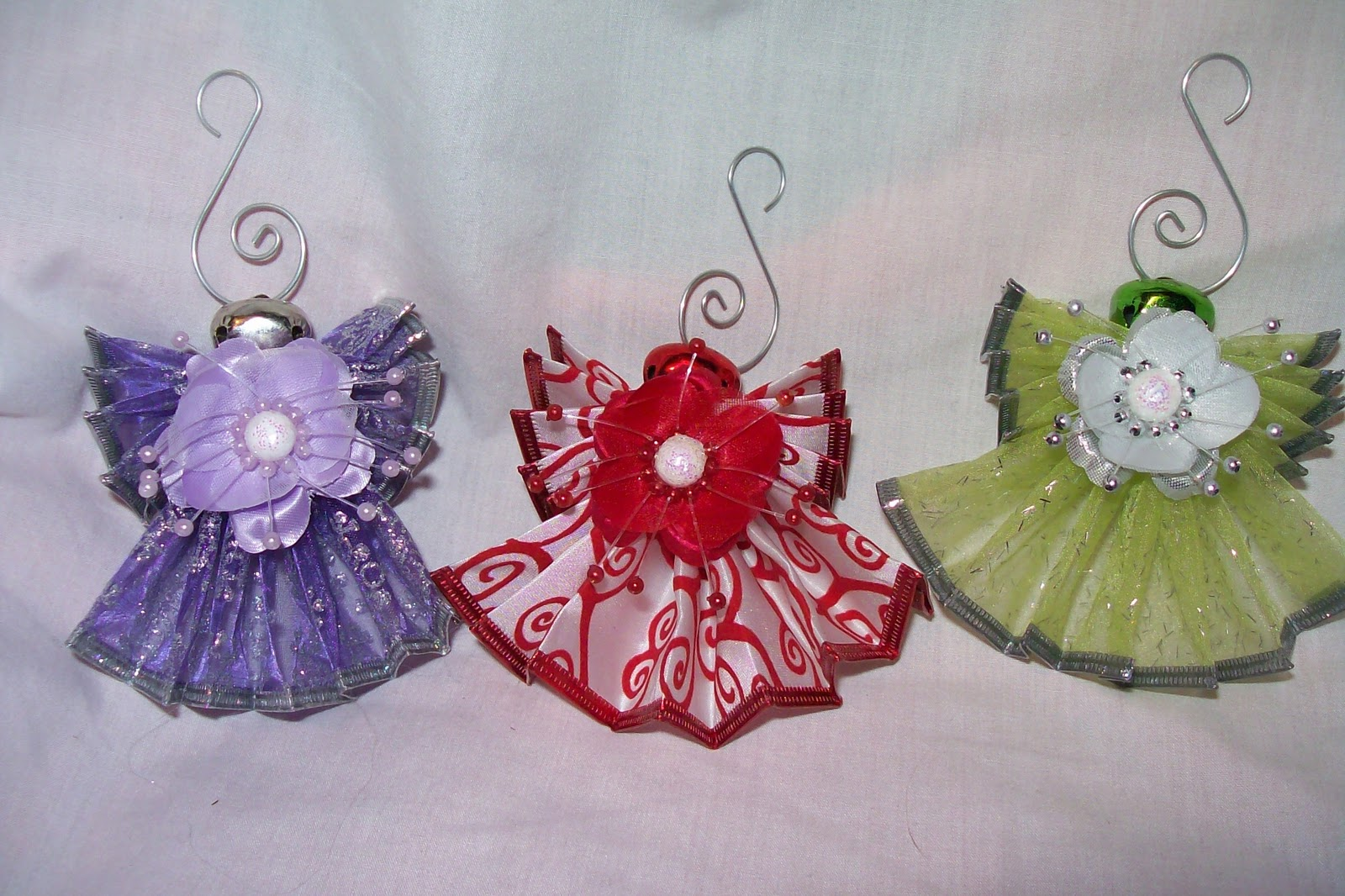 Candy, Cake, and Crafts: Angels from Ribbons