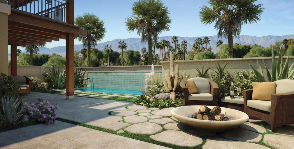 Modern residential landscape architecture designs for Residential garden design