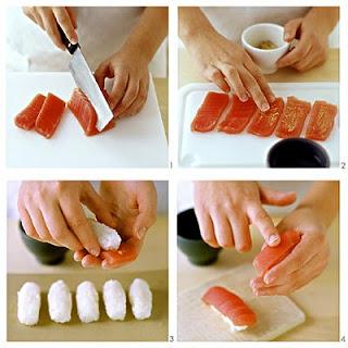 壽司食譜 煙燻鮭魚壽司