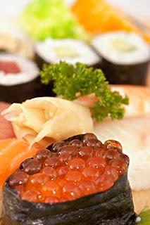 蝦卵壽司,壽司,壽司作法,壽司食譜,日本壽司,日本壽司食譜,食譜