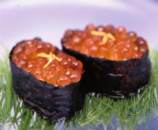 壽司,魚卵壽司,壽司食譜,鮭魚卵壽司,鮭魚卵壽司食譜,魚卵壽司食譜