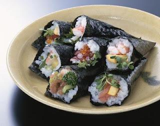 壽司,手卷,手捲,海苔壽司,壽司食譜,日本料理,日本料理食譜,海苔壽司食譜