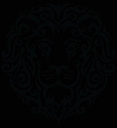 c5193aa0b Tribal Lion Tattoo Design Greeting Card by doonidesigns. Tattoo Tribal Lion