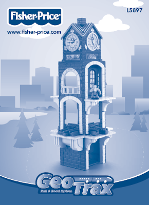 GeoTrax High Chimes Clock Tower Instruction Sheet