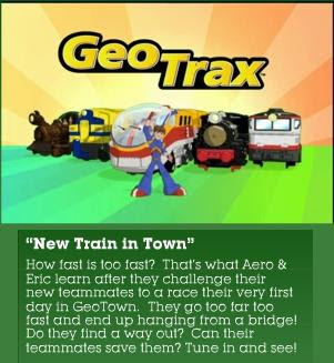 GeoTrax NEW DVD called Team GeoTrax--All Aboard!