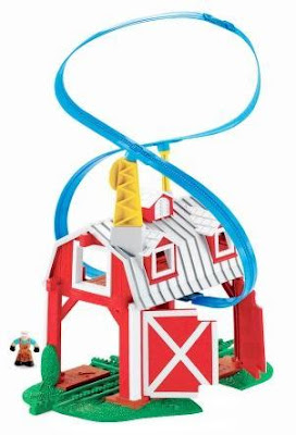 GeoTrax Blast-Through Barn with GeoAir Expansion Track
