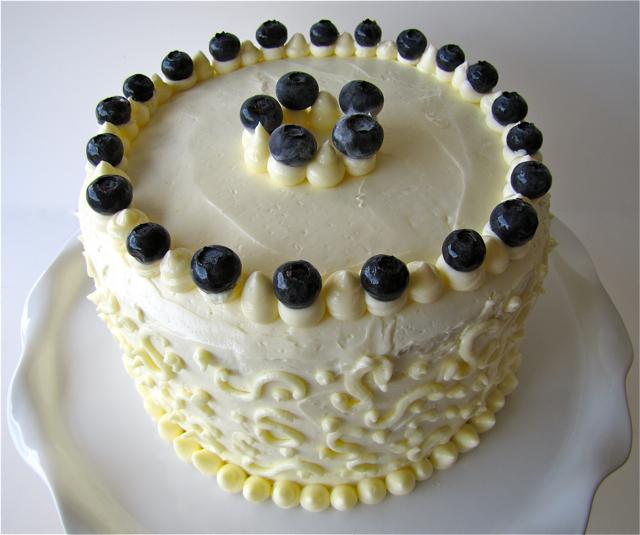 Susi S Kochen Und Backen Adventures Marbled Lemon Blueberry Butter Cake