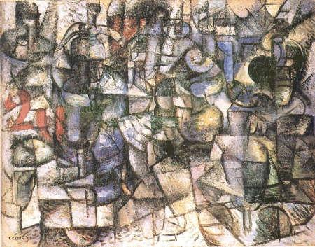 Rhythms of objects: Carlo Carrà