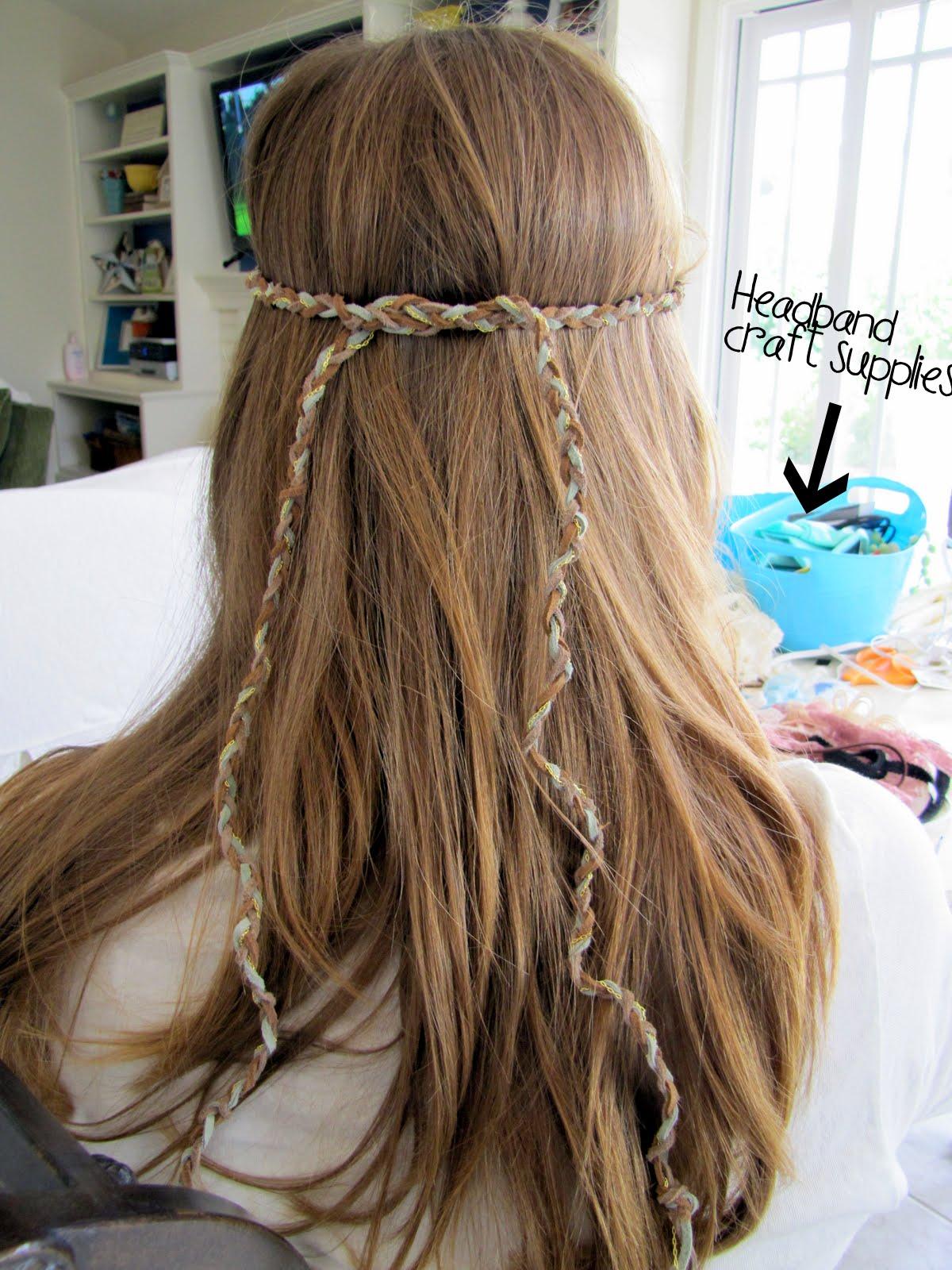 World S Easiest Bohemian Hippie Headband Tutorial Craft