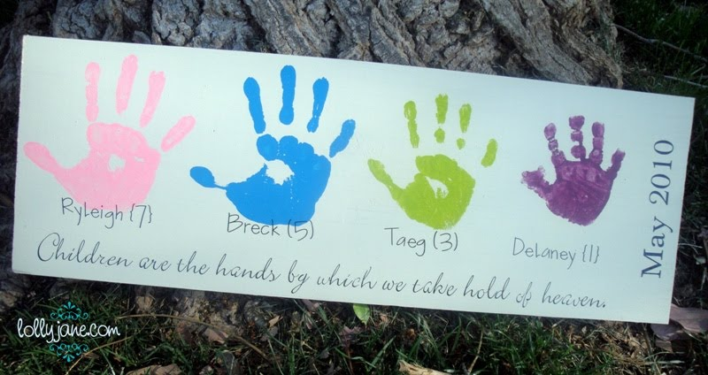 Mother S Day Handprint Board