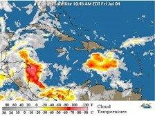 Onda tropical y vaguada continuarán provocando precipitaciones en el país