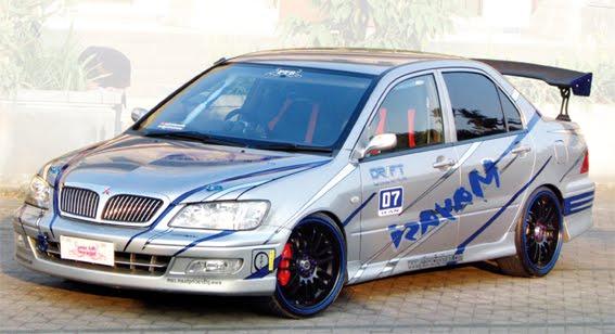 Otomotif: MODIFIKASI Mitsubishi Lancer 2008