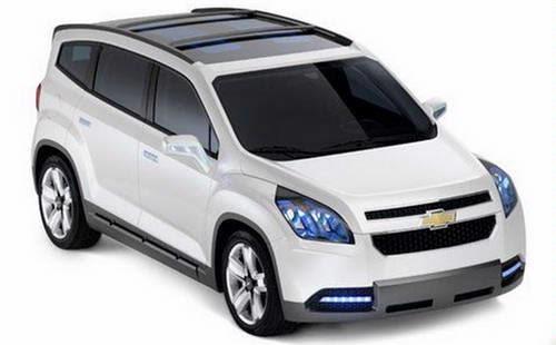 SPESIFIKASI Chevrolet Orlando