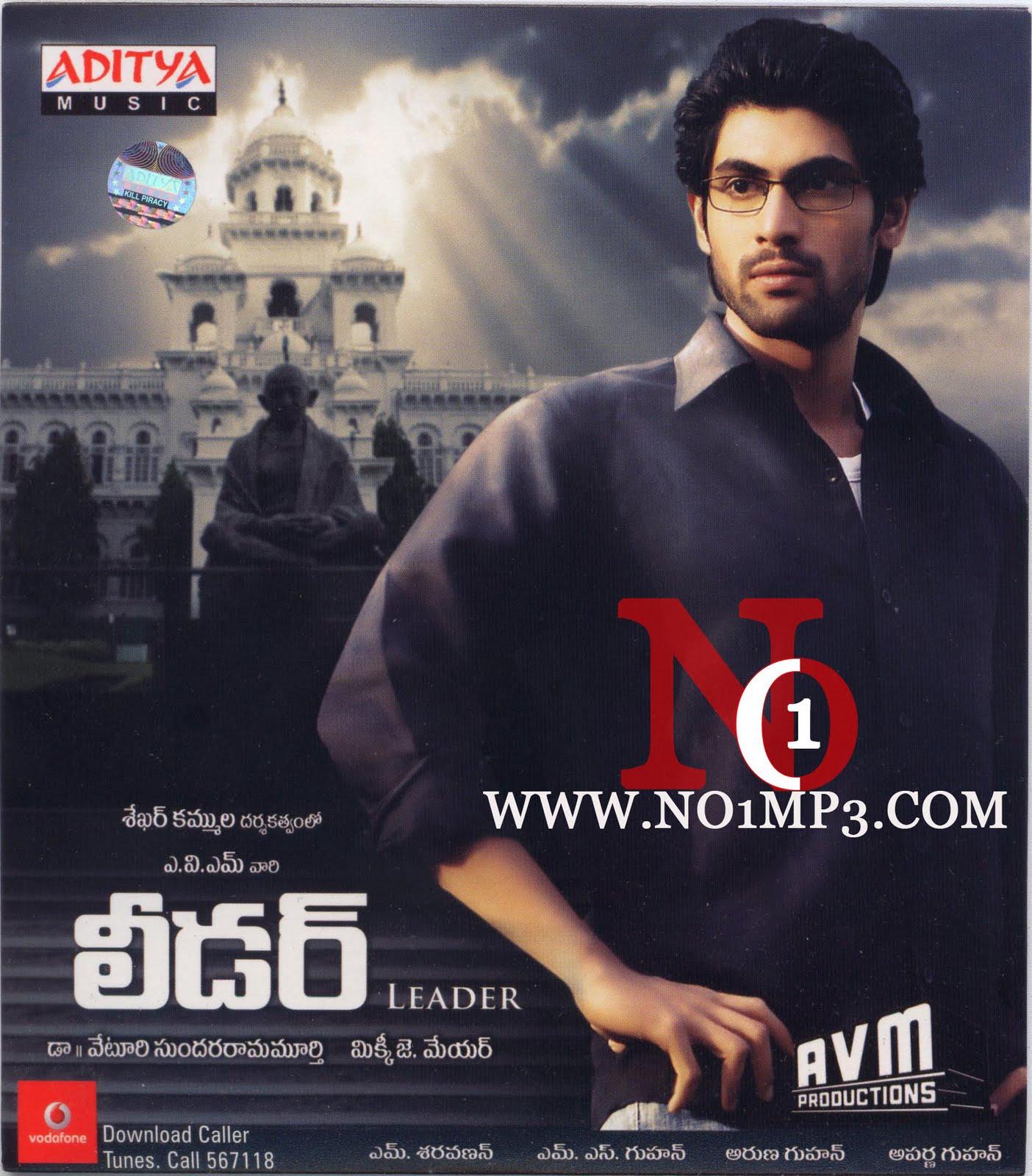 Leader (2009) 128&320 Kbps Mp3 Telugu Movie Audio Mp3