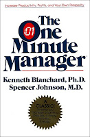 One minute manager - Spencer Johnson, Kenneth Blanchard