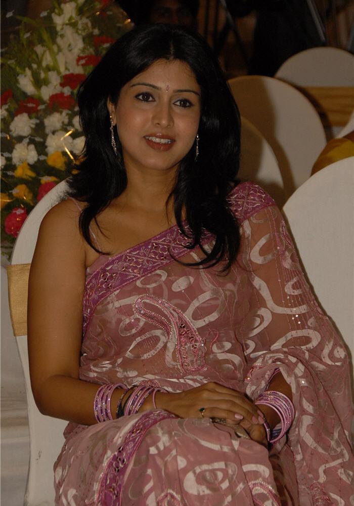Aunties Bazaar Tamil Aunty In Saree-8203