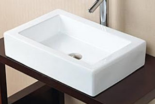 porcelain ceramic bathroom vessel sink