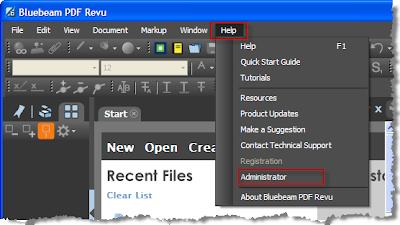 Wolski CAD Tips: Bluebeam Administrator