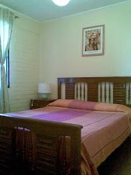 Dormitorio principal casa Las Palmeras