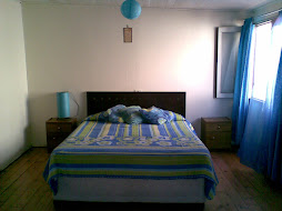 dormitorio principal casa Balmaceda