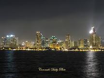 Coronado Daily San Diego Skyline Night