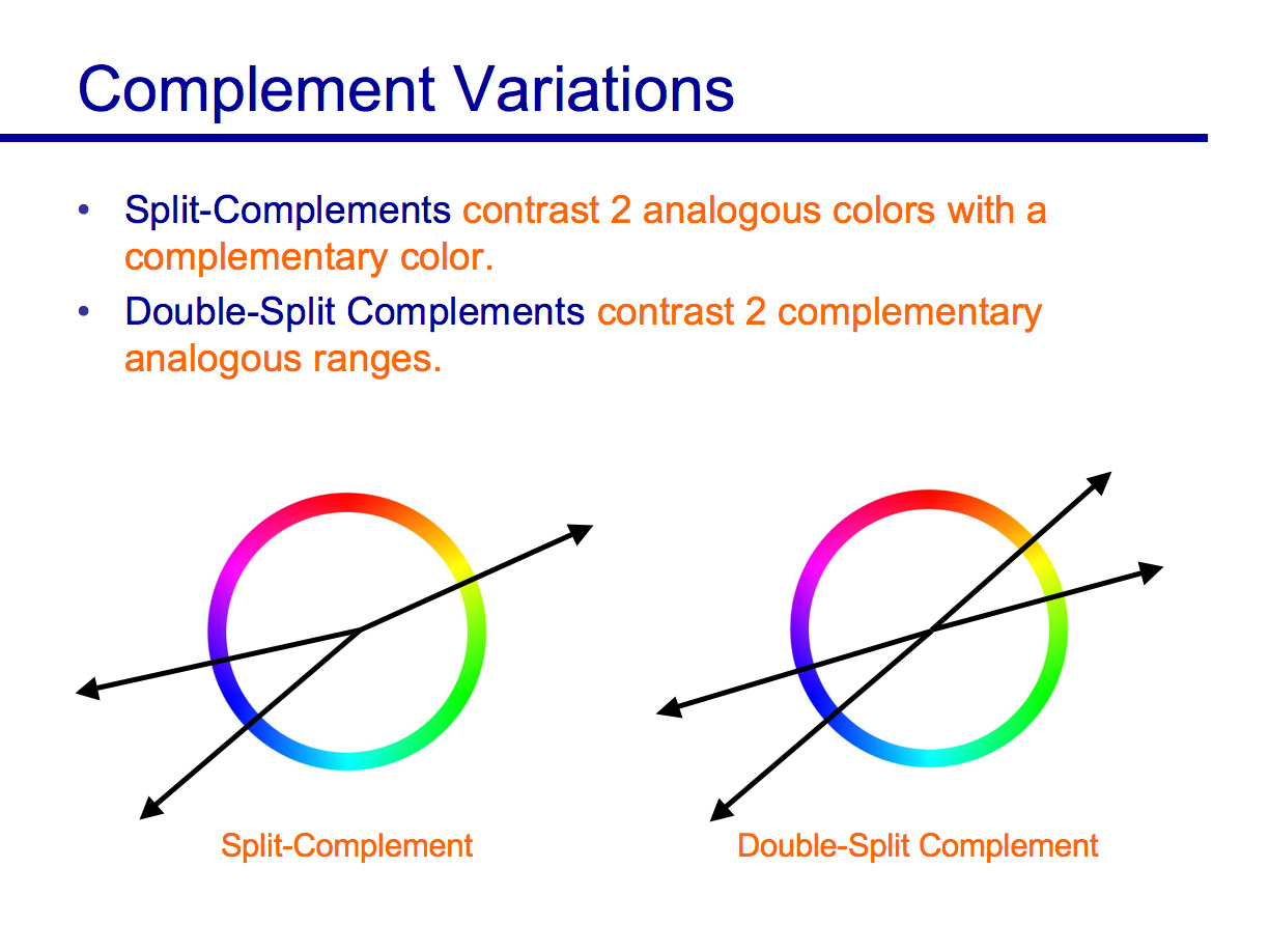 Besides A Straight Up Complement Artists Will Also Contrast An Analogous Range Of Colors With To That Or Even Use 2 Complementary