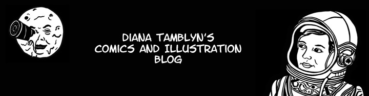 Diana Tamblyn's Comics and Illustration Blog