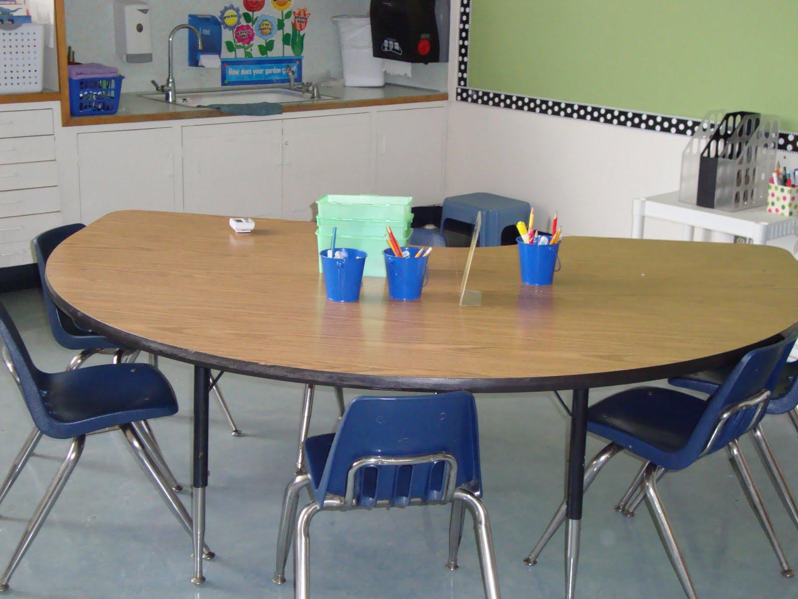 Kindergarten classroom table - Kindergarten Classroom Table 57