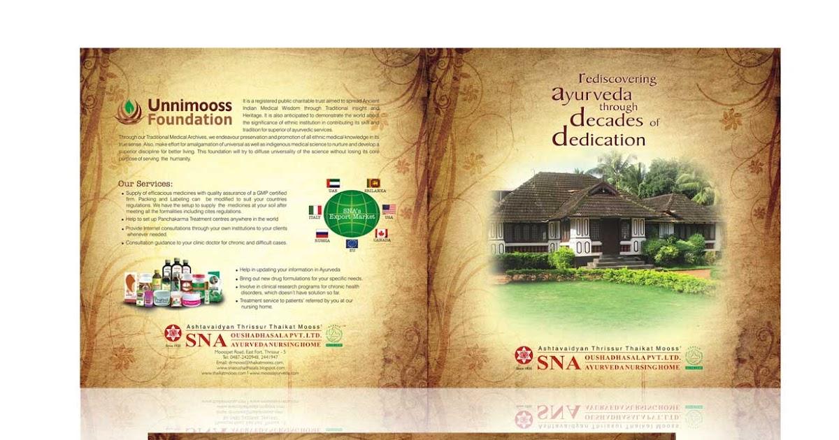 C Amp O Ad Ventures Brochure Design Thrissur Kerala