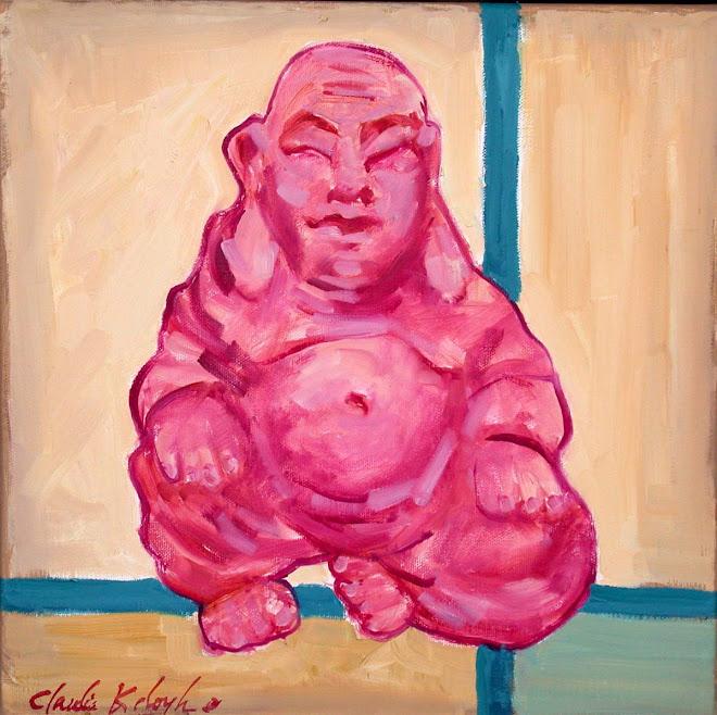 Levitating Buddha