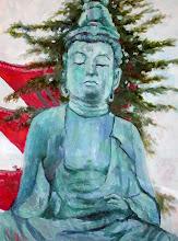 Buddha with Pagoda