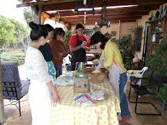 Taller de pan de horno de leña