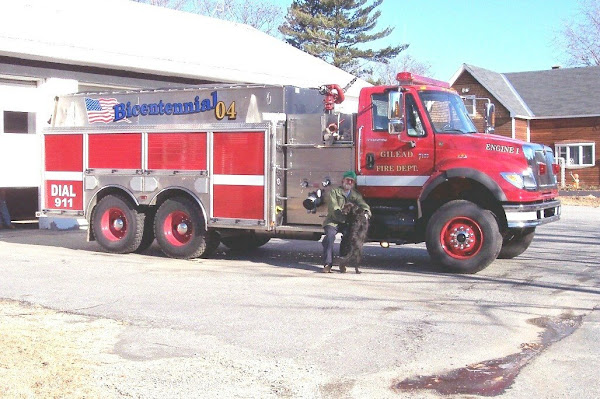New Fire Truck - 2004