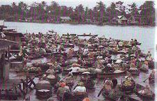 Pasar Terapung Lok Baintan Kab.Banjar
