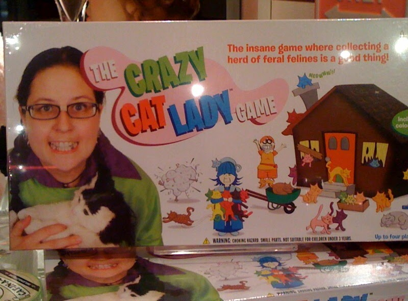 Michelle Martine Merrill's Picture of the Day: Crazy Cat Lady