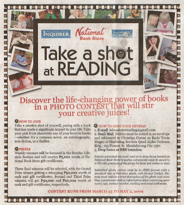 Take a shot at READING