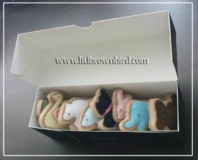 DSC08942 - Biscoitinhos de feltro