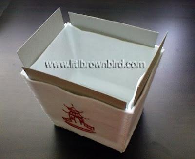 DSC08974 - Caixinha para comida japonesa em feltro