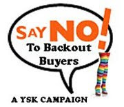 { No Backout Buyer ! }