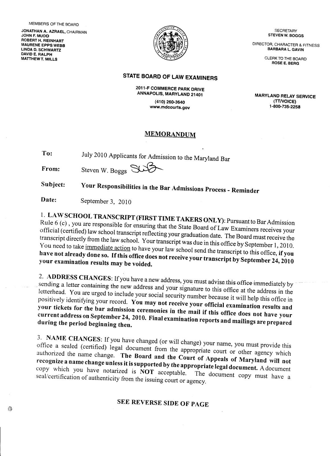 Sample Admission Appeal Letter