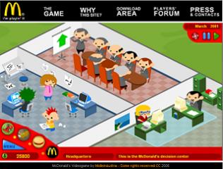 mc donald`s tycoon Mcdonalds+game